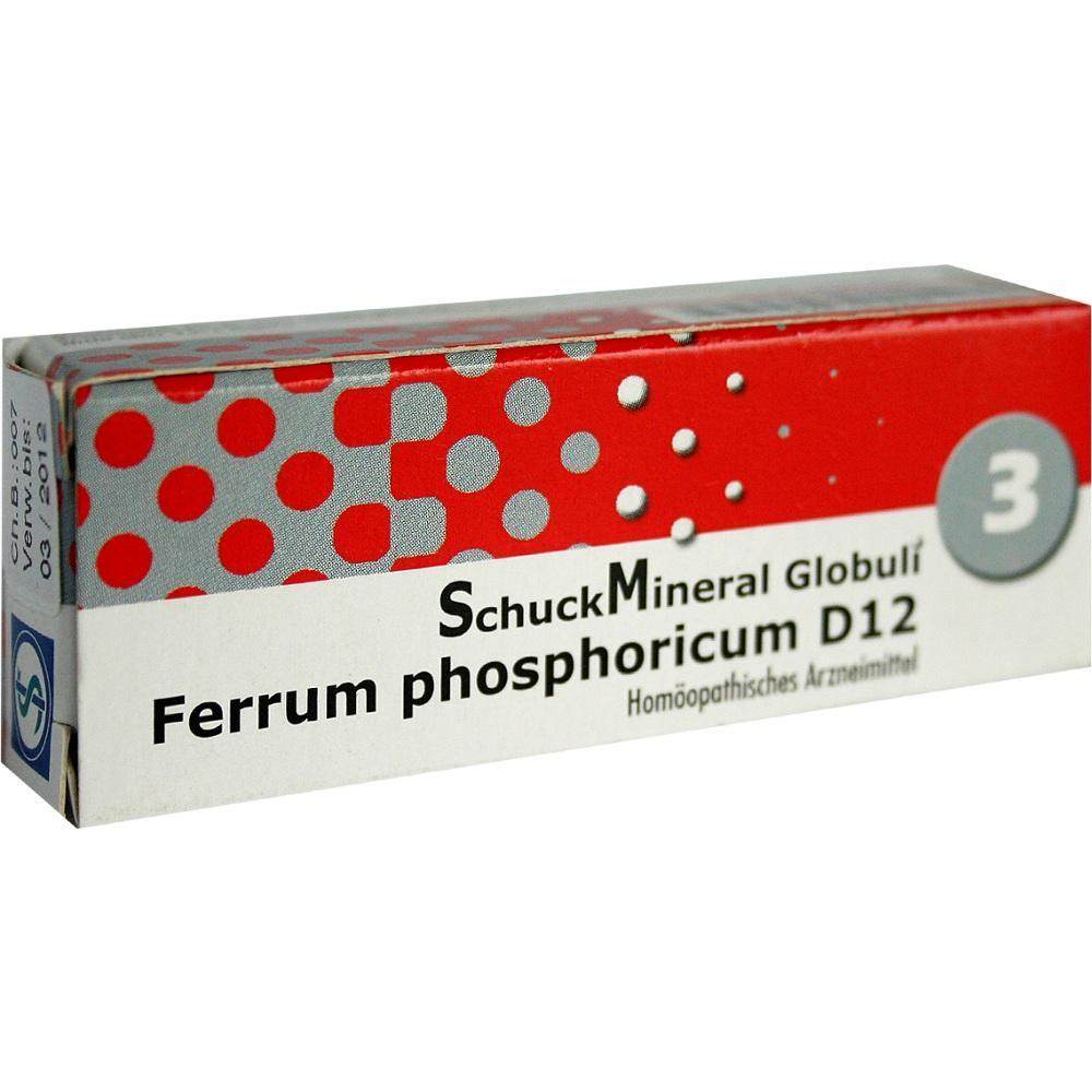 Schuckmineral Globuli 3 Ferrum phosphoricum D12 7.5 g