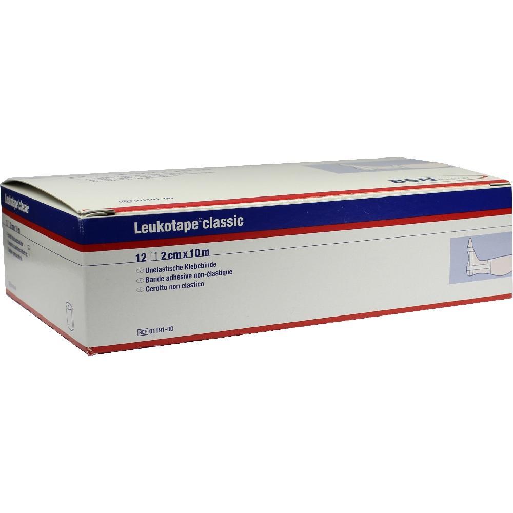 Leukotape Classic 2 cmx10 m weiß 12 St