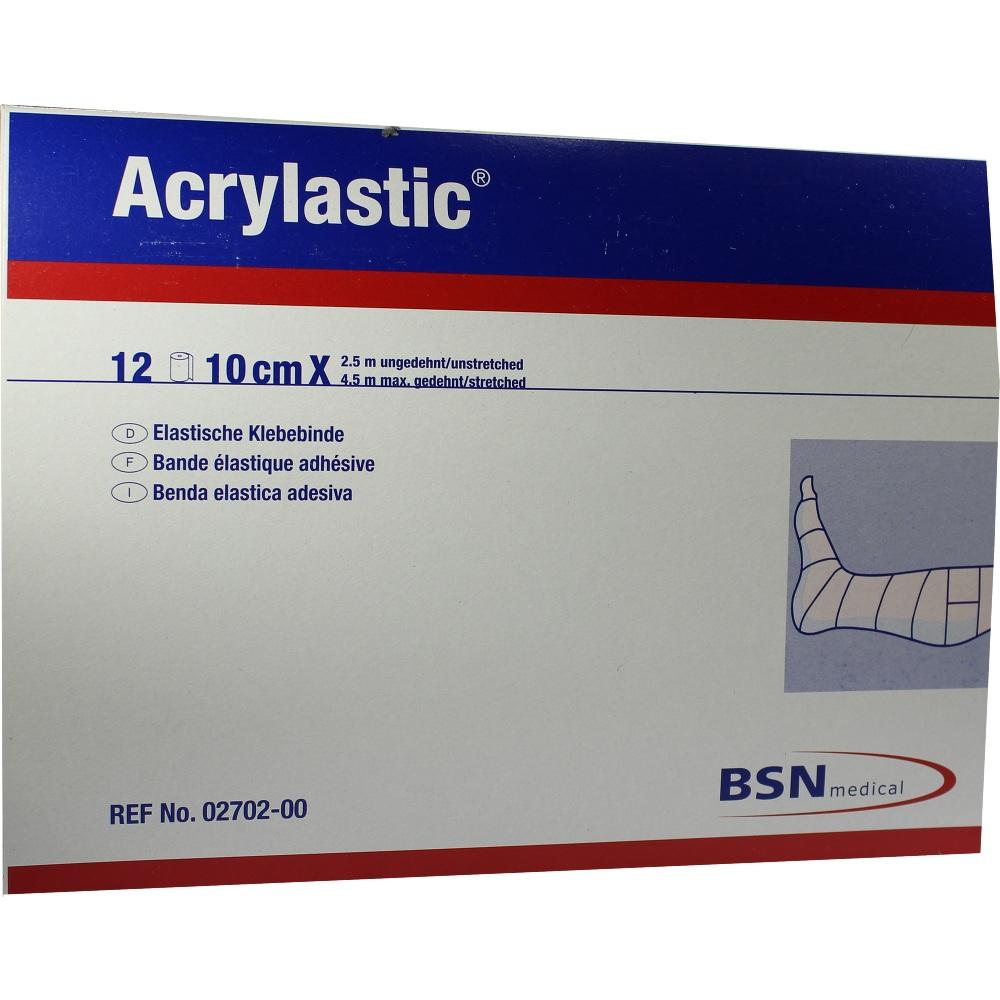 Acrylastic 10 cmx2,5 m Binden 12 St