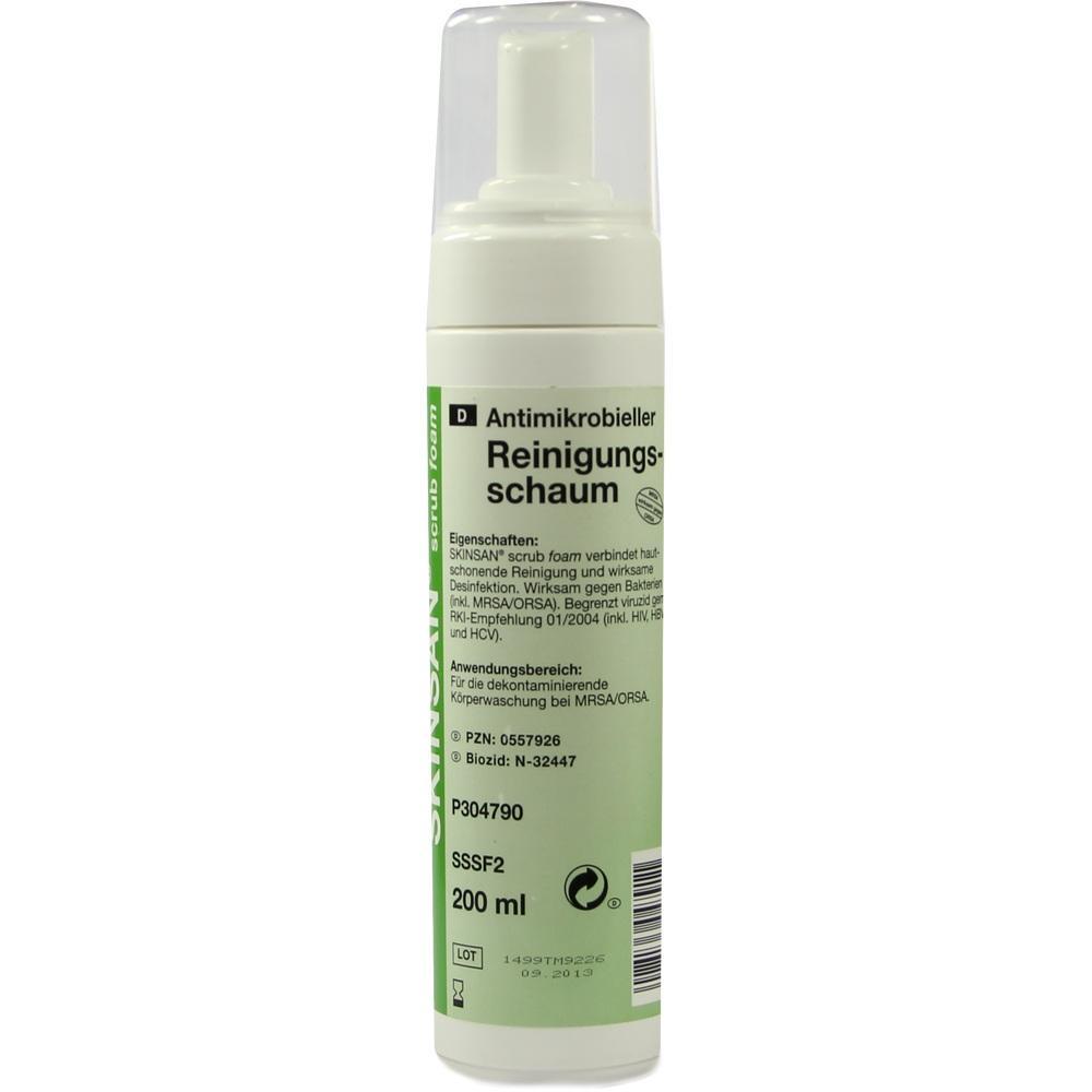 Skinsan scrub foam antimikr.Waschlot.Fingerpumpfl. 200 ml