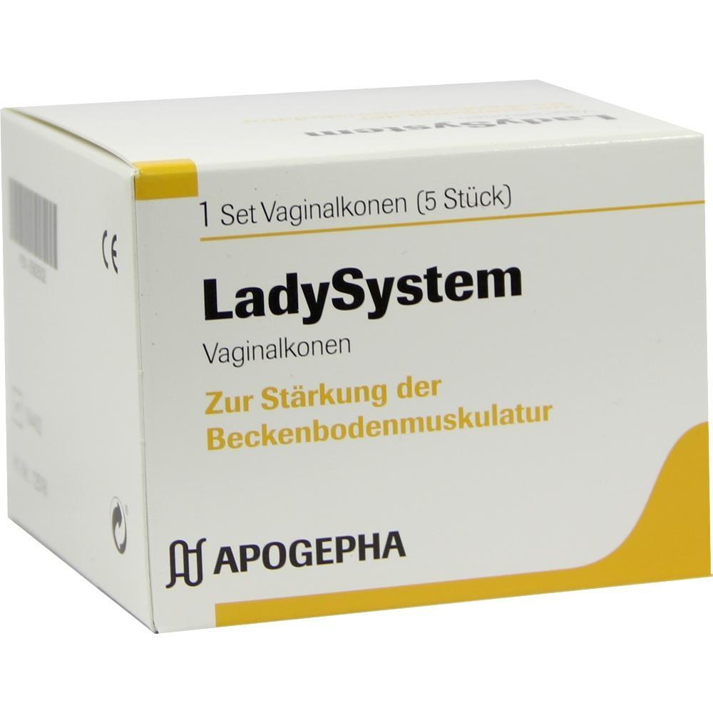 Ladysystem Vaginalkonen Set 1 St