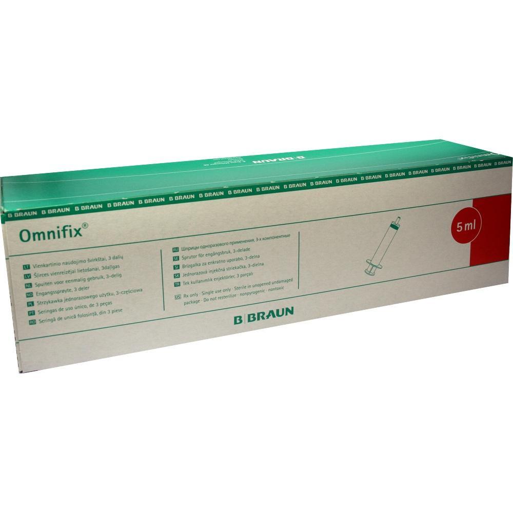 Omnifix Solo Spr.5 ml Luer Lock latexfrei 100X5 ml