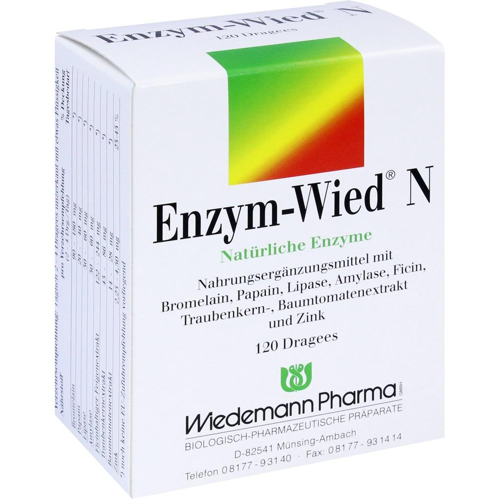 Enzym Wied N Dragees 120 St