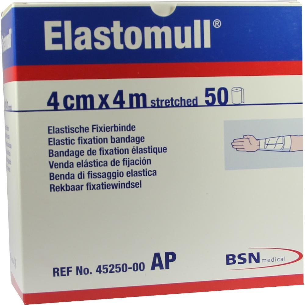 Elastomull 4 cmx4 m 45250 elast.Fixierb. 50 St