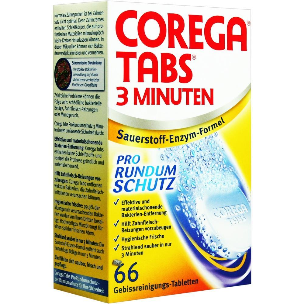 Corega Tabs 3 Minuten 66 St