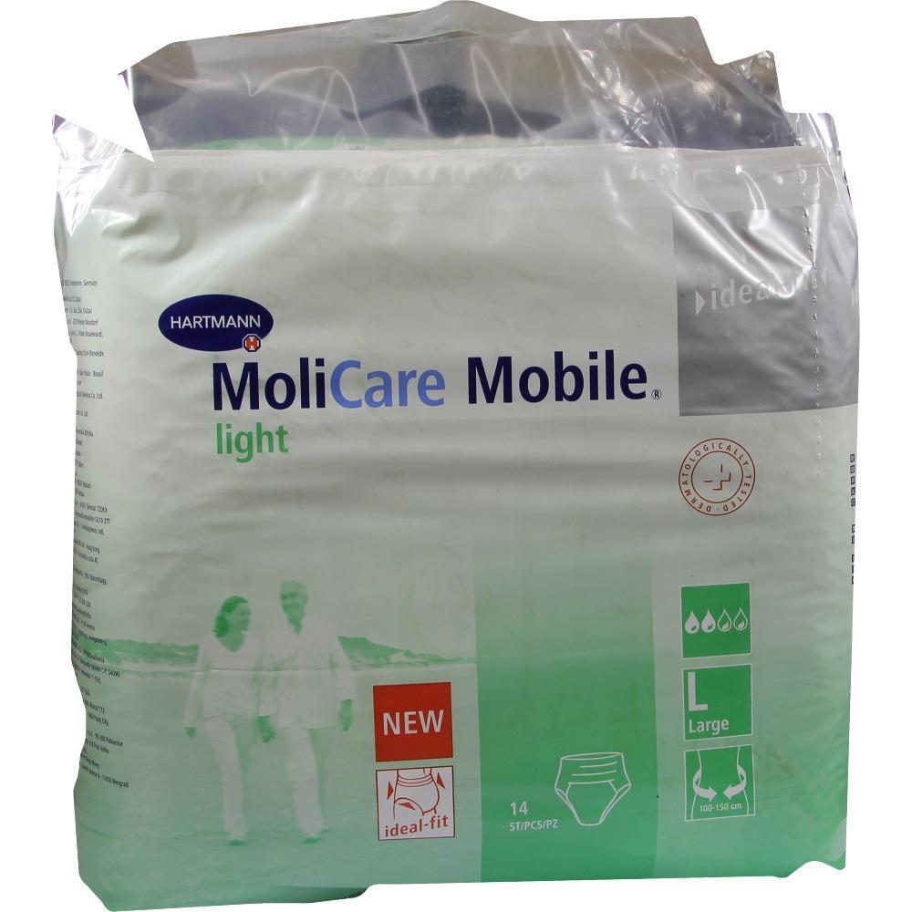 Molicare Mobile Light Inkontinenz Slip Gr.3 large 14 St