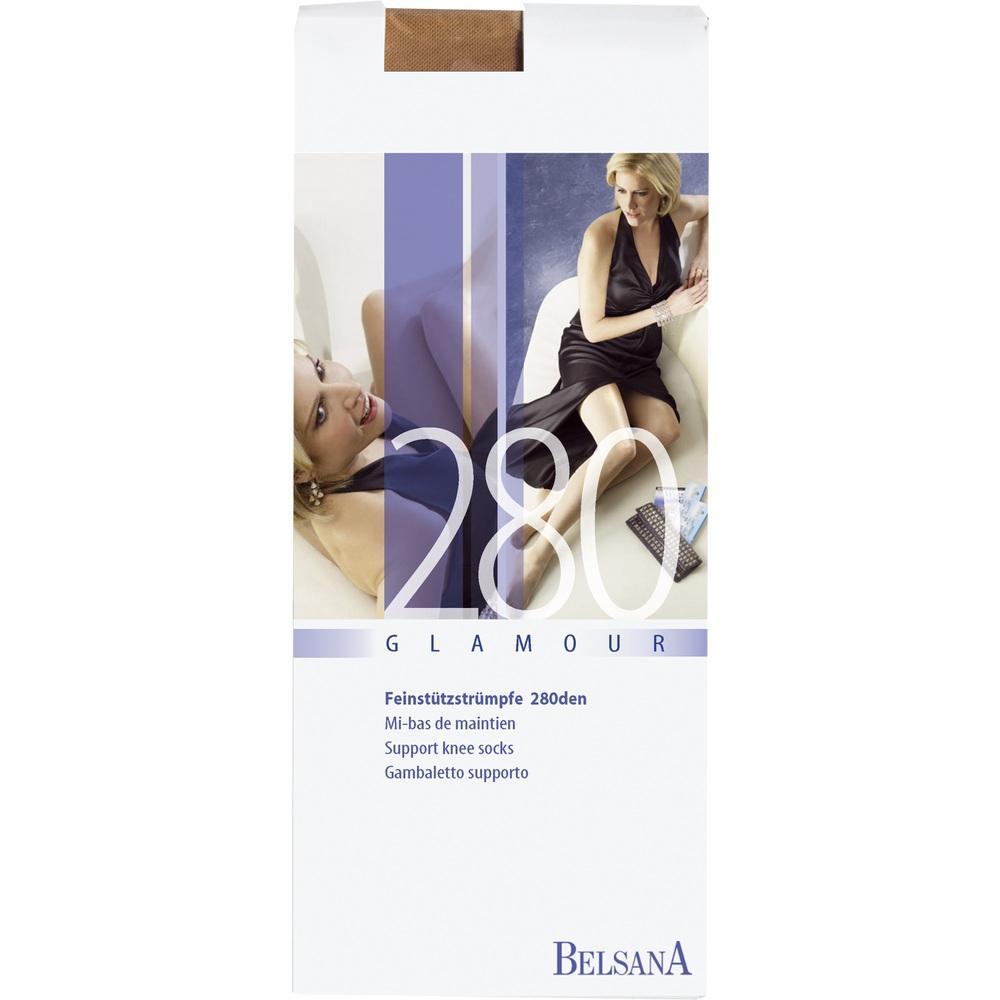 Belsana glamour 280den Ad kurz M nachtbl.m.Sp. 2 St