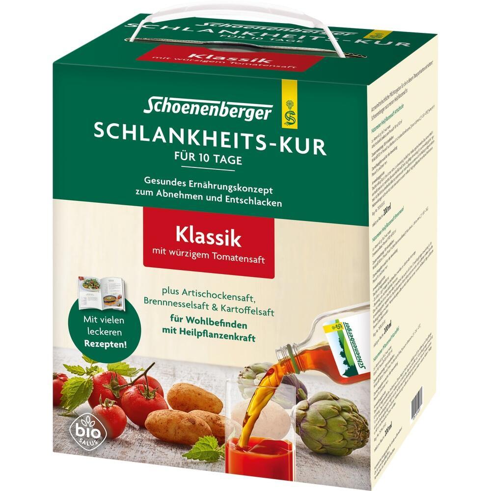 Schlankheitskur Klassiker Schoenenberger von SALUS Pharma..