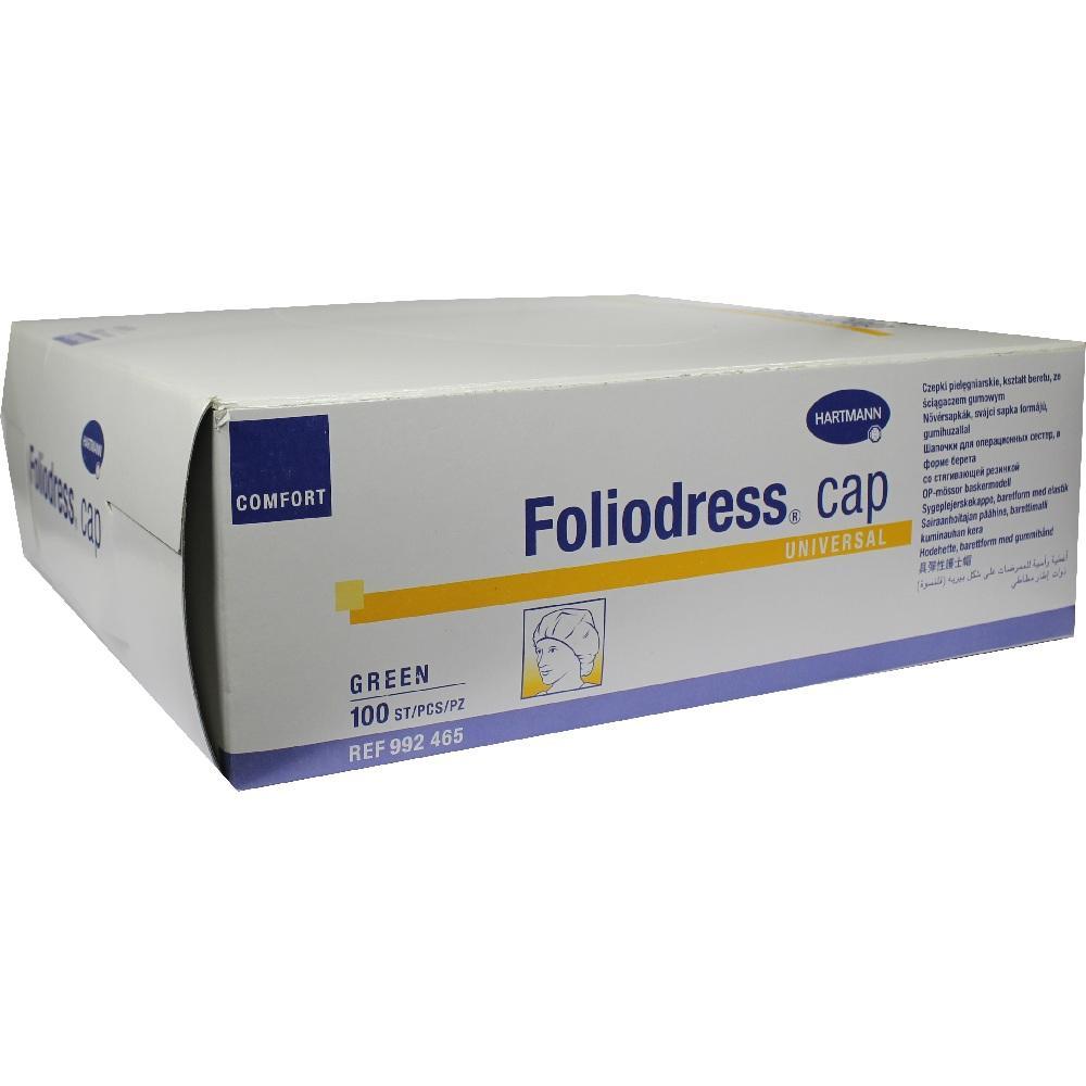 Foliodress Cap Comfort Universal grün Op-Hauben 100 St
