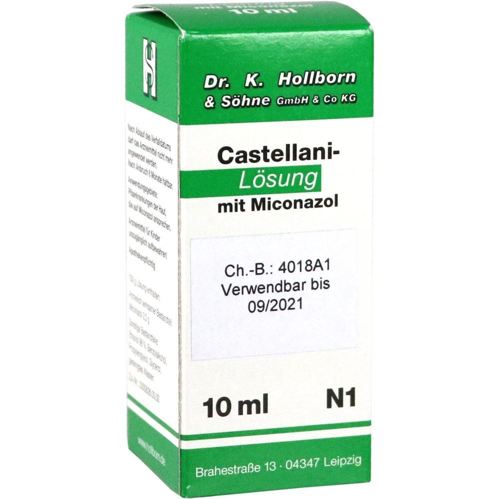 Castellani m. Miconazol Lösung 10 ml