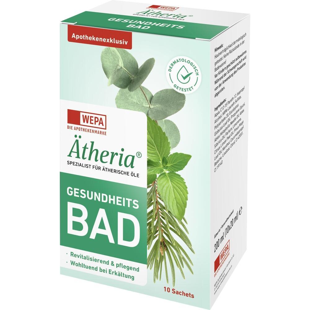 Ätheria revitalisierendes Gesundheitsbad 10X20 ml
