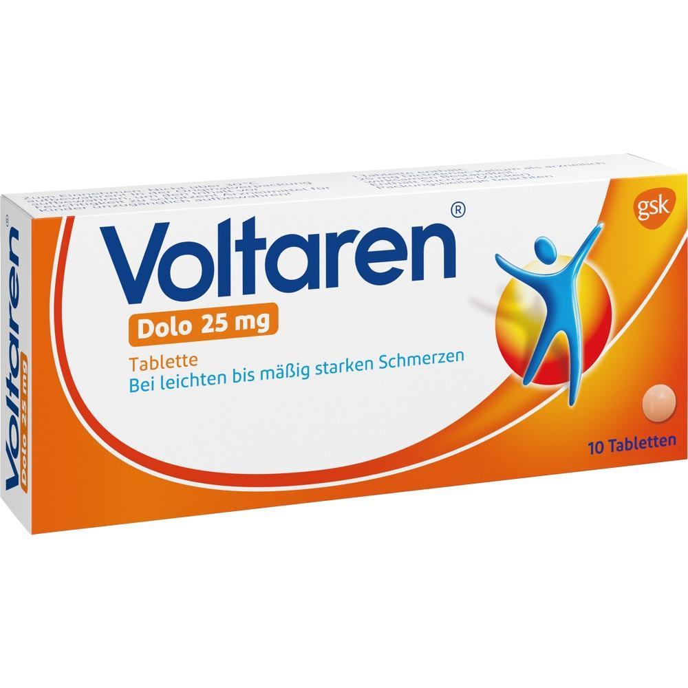 Voltaren Dolo 25 mg überzogene Tabletten 10 St