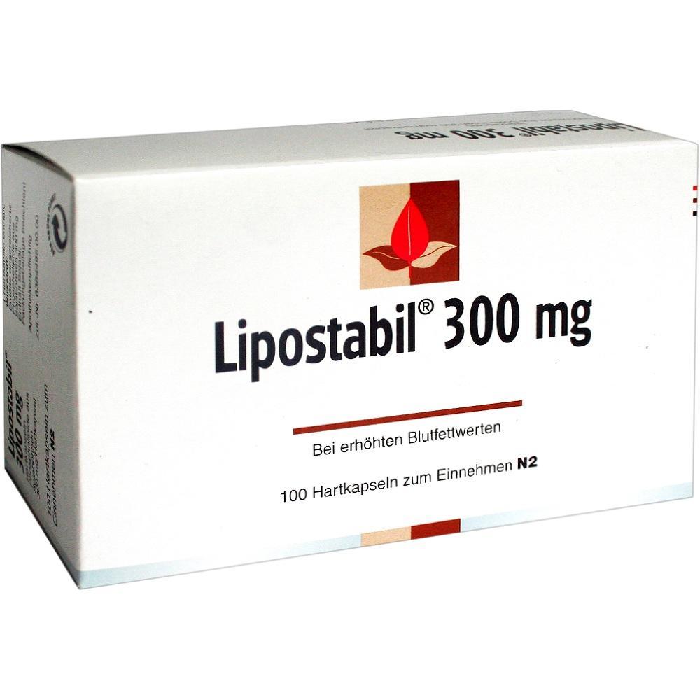 Lipostabil 300 mg Hartkapseln 100 St