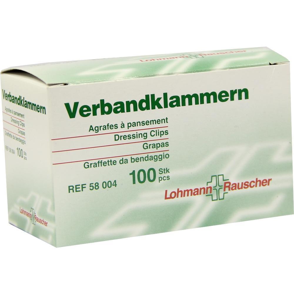 Verbandklammern Lohmann hautfarben 100 St