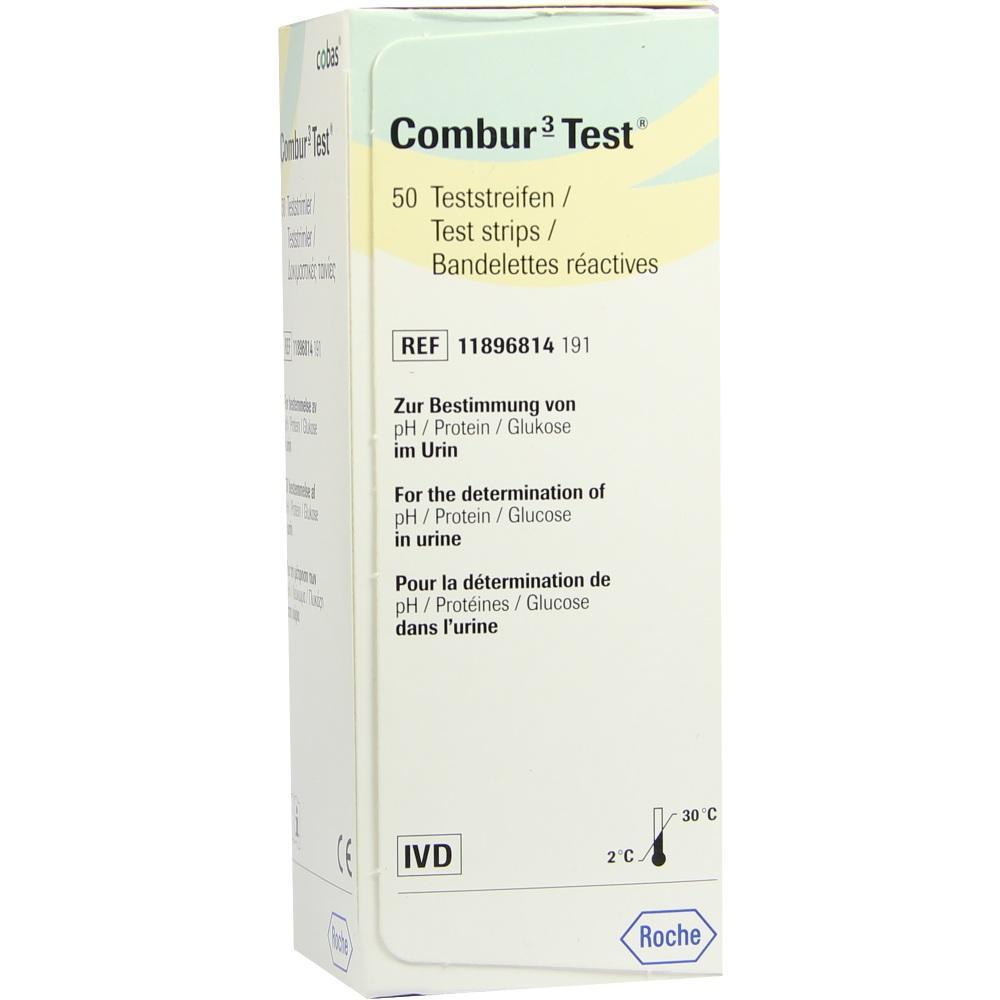 Combur 3 Test Teststreifen 50 St