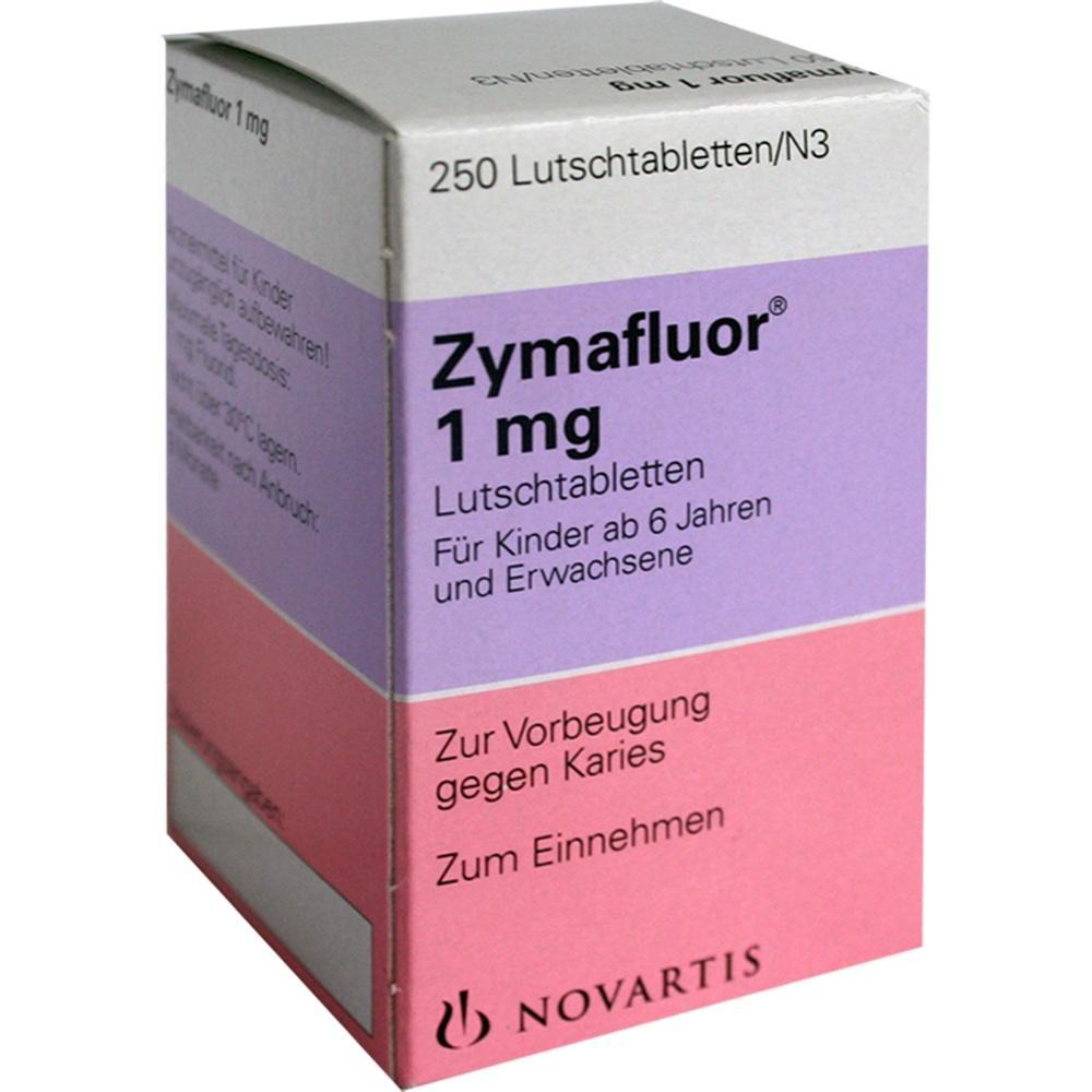 Zymafluor 1 mg Lutschtabletten 250 St