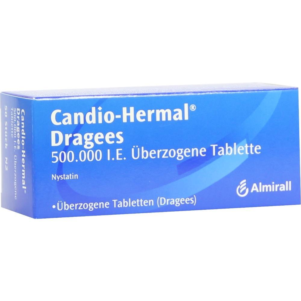 Candio Hermal überzogene Tabletten 50 St