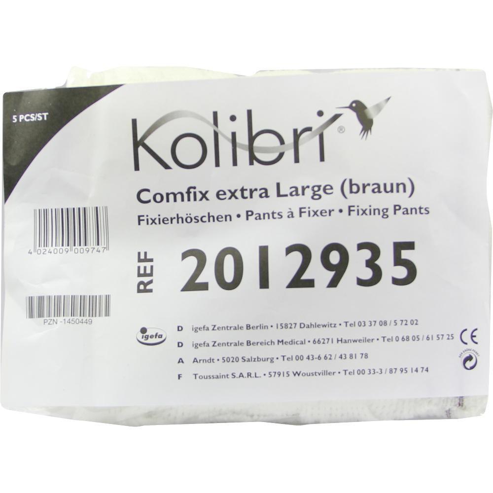 Kolibri comfix extra Fixierhosen large braun 5 St