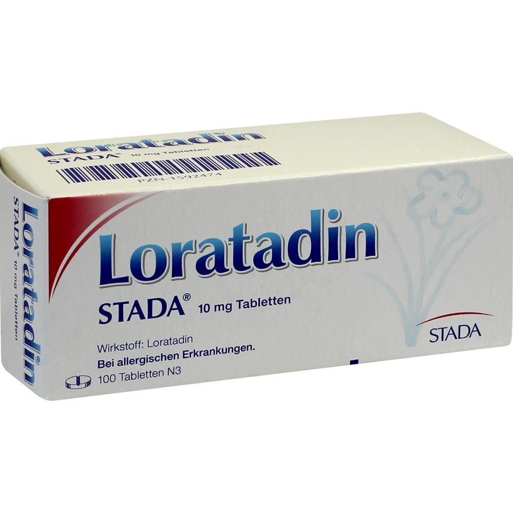 Loratadin Stada 10 mg Tabletten 100 St