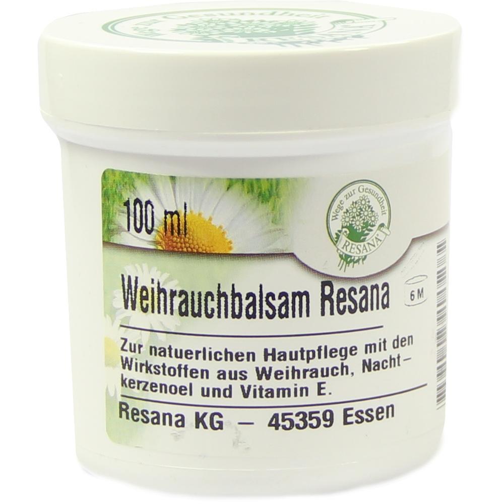 Weihrauch Balsam Resana 100 ml