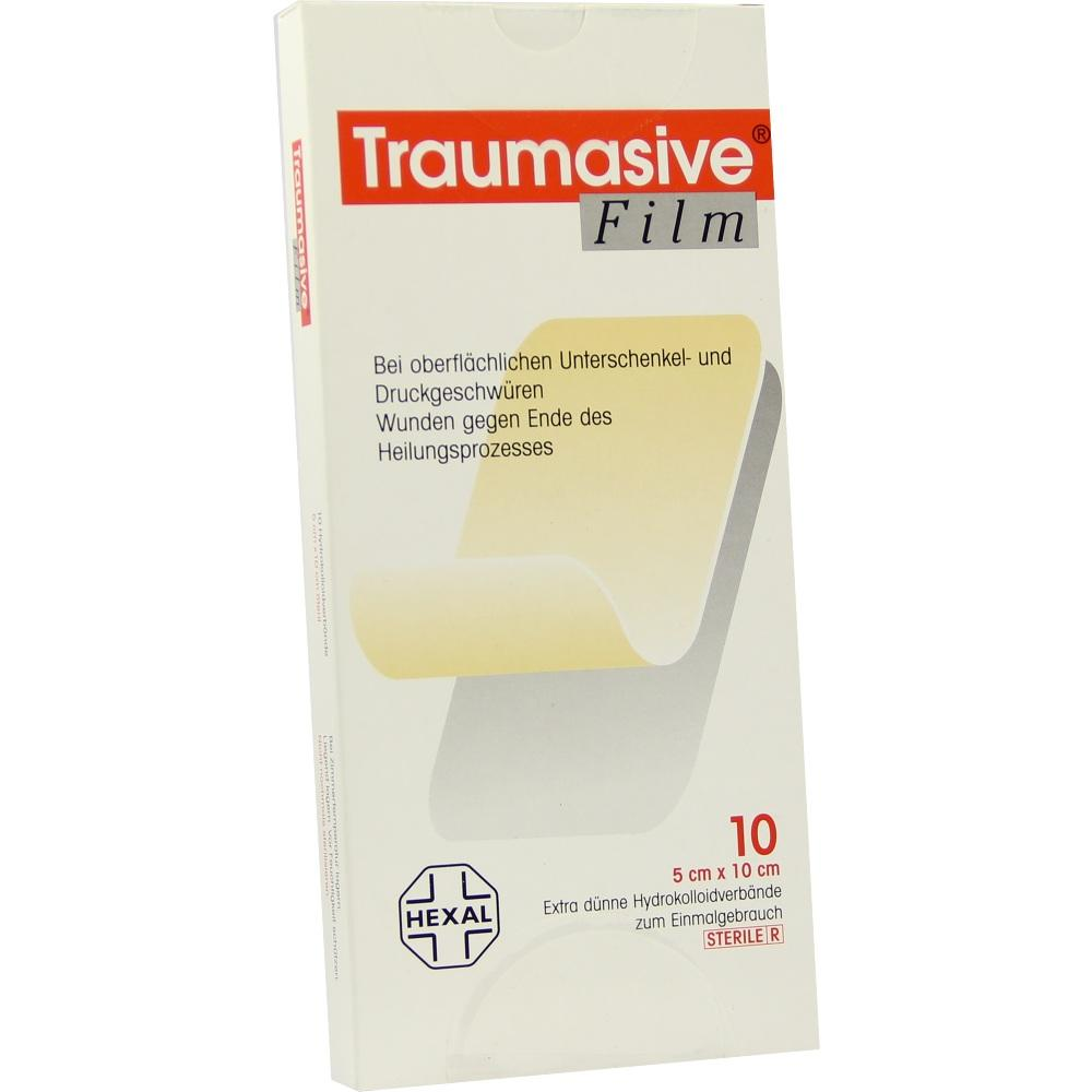 Traumasive Film 5x10cm Hydrokolloid-Verband 10 St
