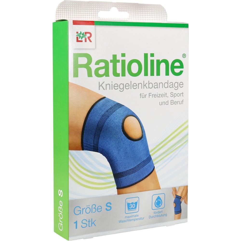 Ratioline active Kniegelenkbandage Gr.S 1 St