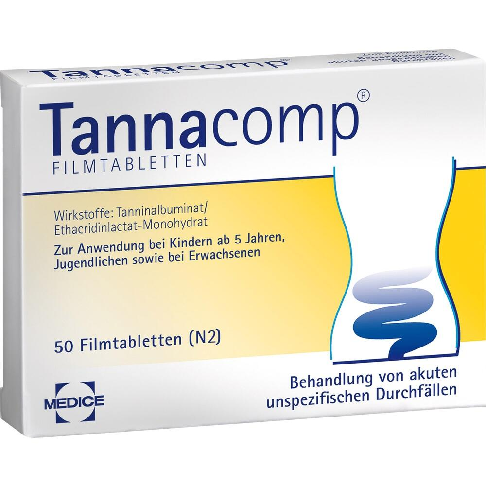 Tannacomp Filmtabletten 50 St