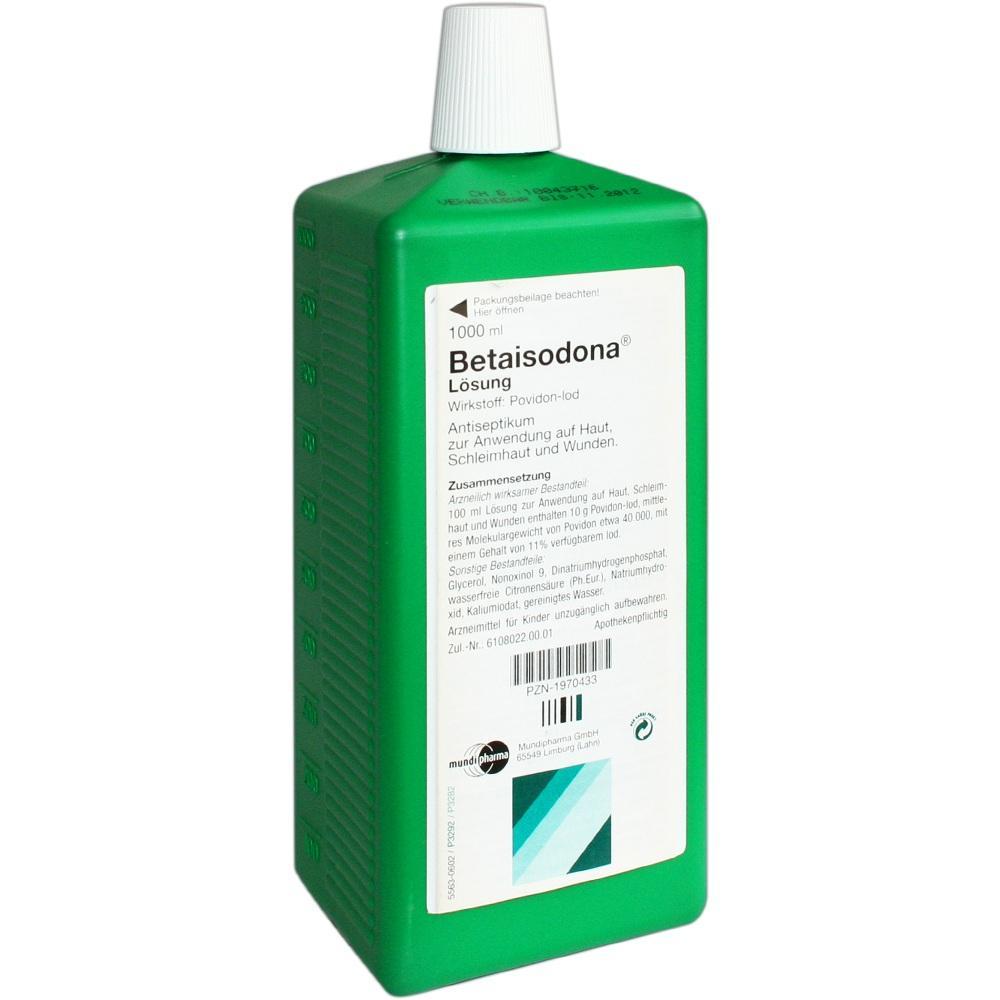 Betaisodona Lösung 1000 ml