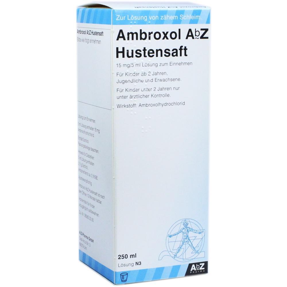 Ambroxol AbZ Hustensaft 15 mg/5 ml 250 ml
