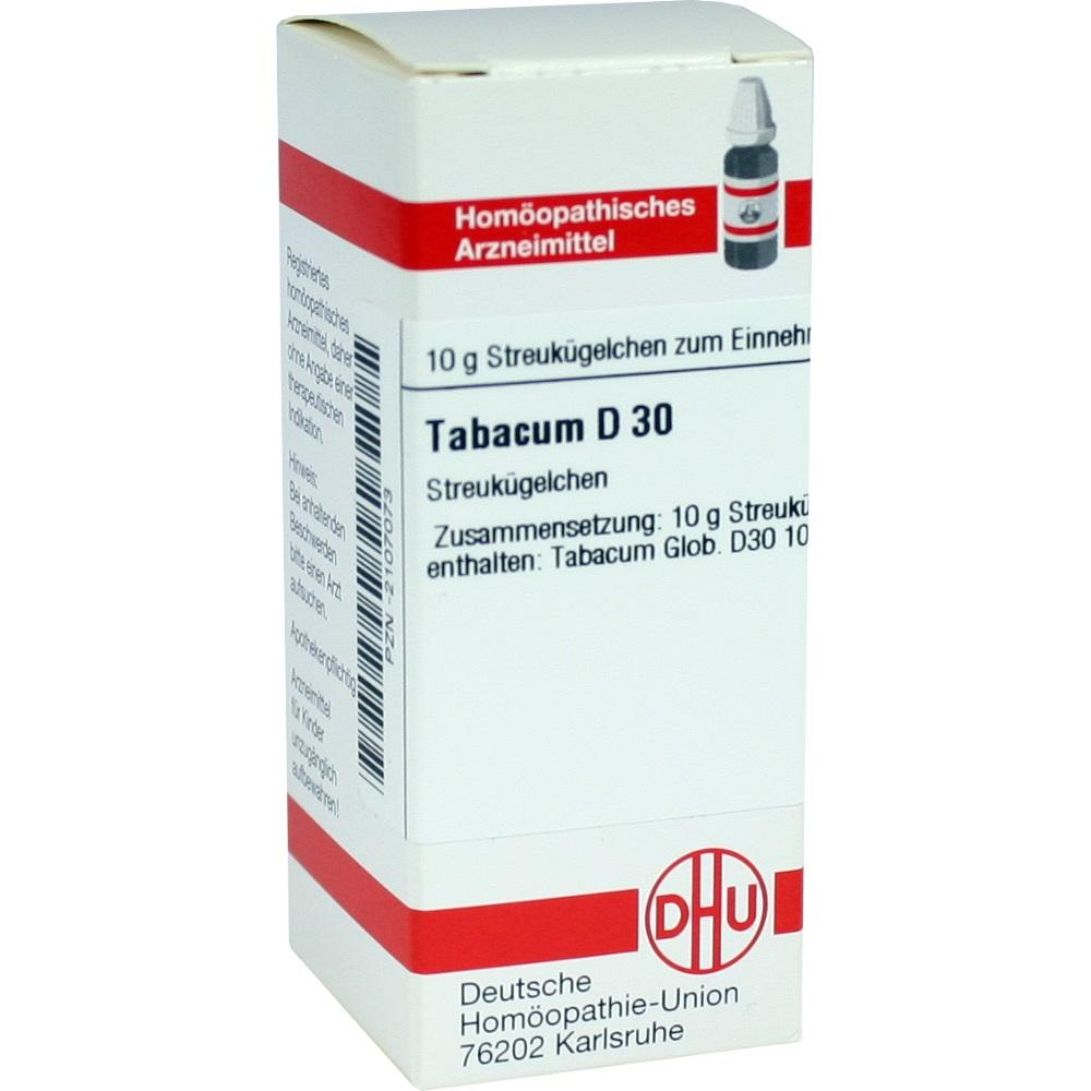 Tabacum D 30 Globuli 10 g