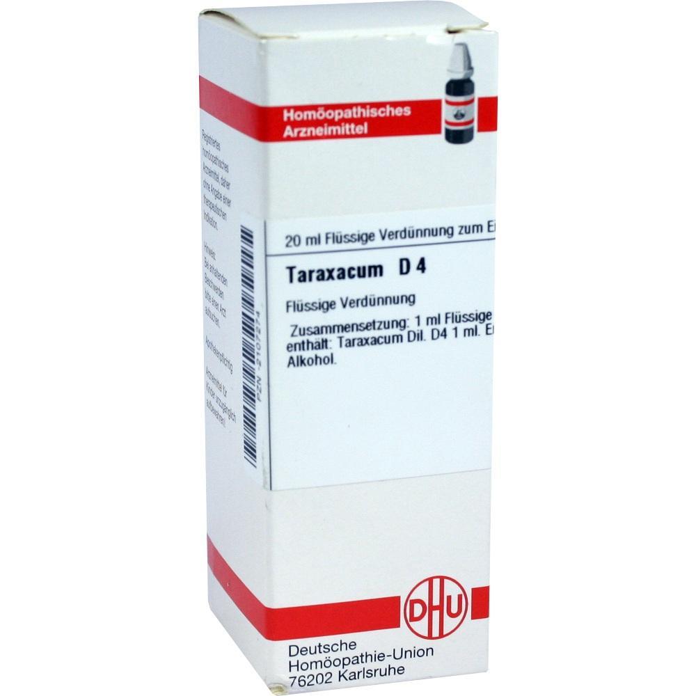 Taraxacum D 4 Dilution 20 ml