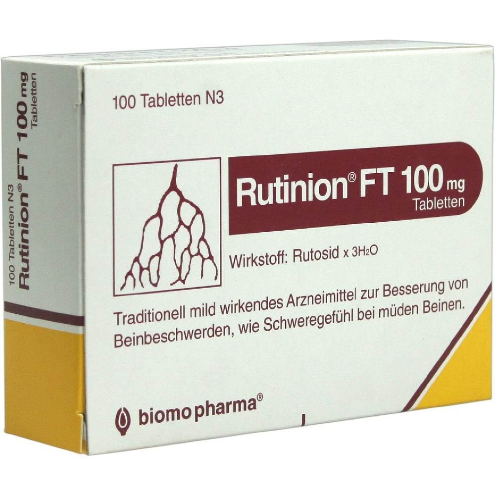 Rutinion Ft 100 mg Tabletten 100 St