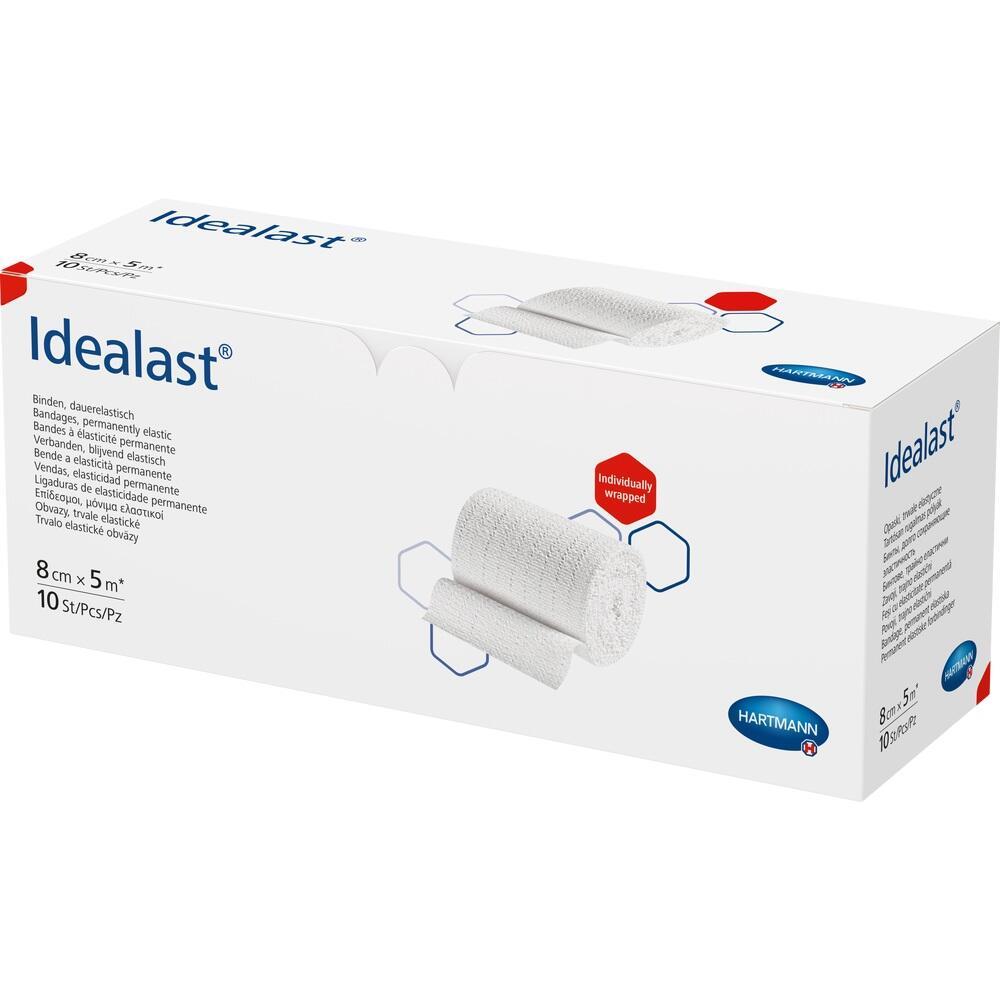Idealast Binde 8 cmx5 m weiß 1 St