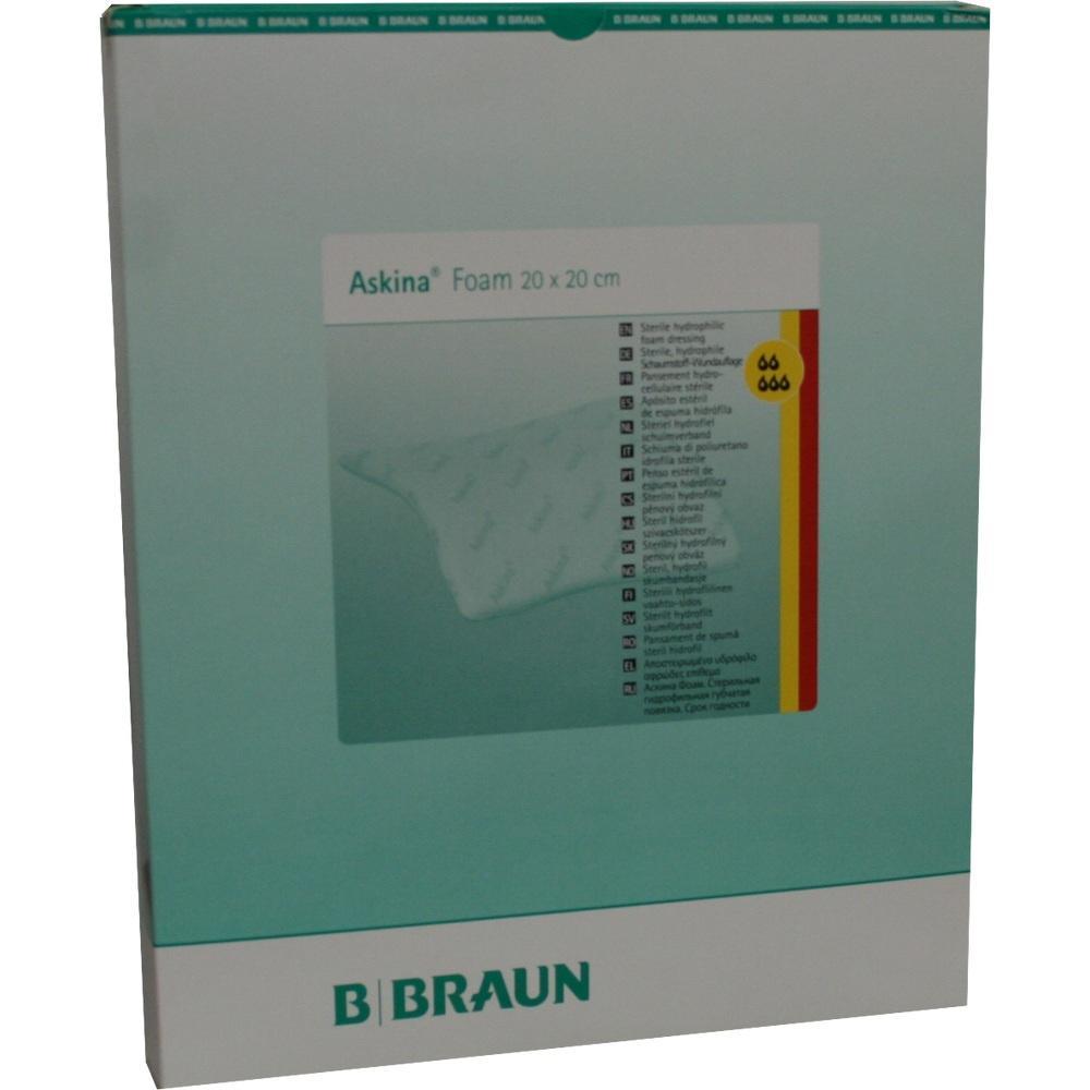 Askina Foam hyd.Wundaufl.20x20 cm steril n.haft. 5 St