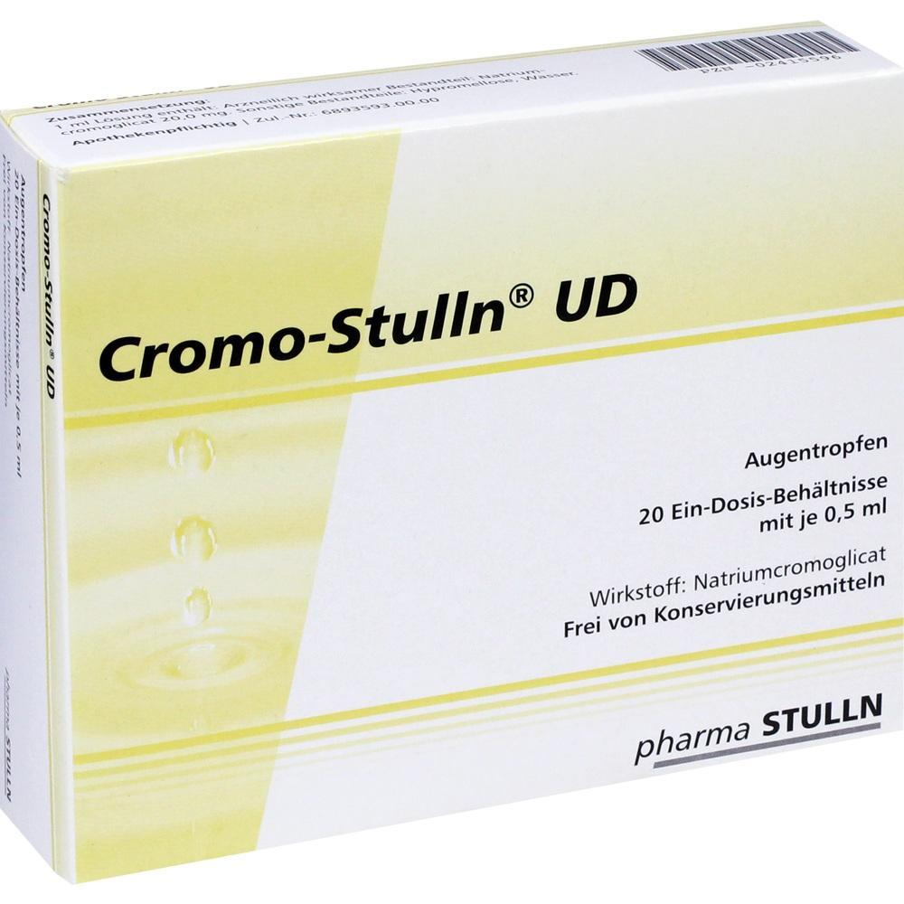 Cromo Stulln Ud Augentropfen 20X0.5 ml