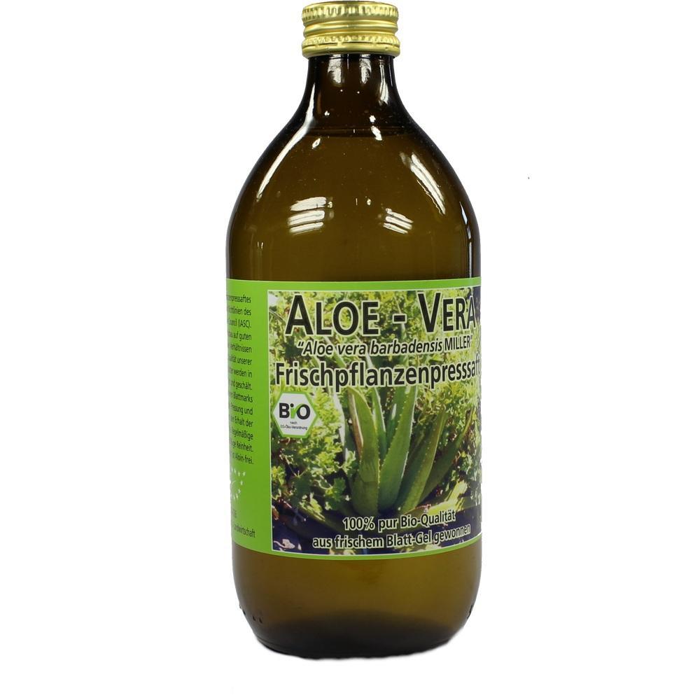 Aloe Vera Frischpflanzen Saft 500 ml
