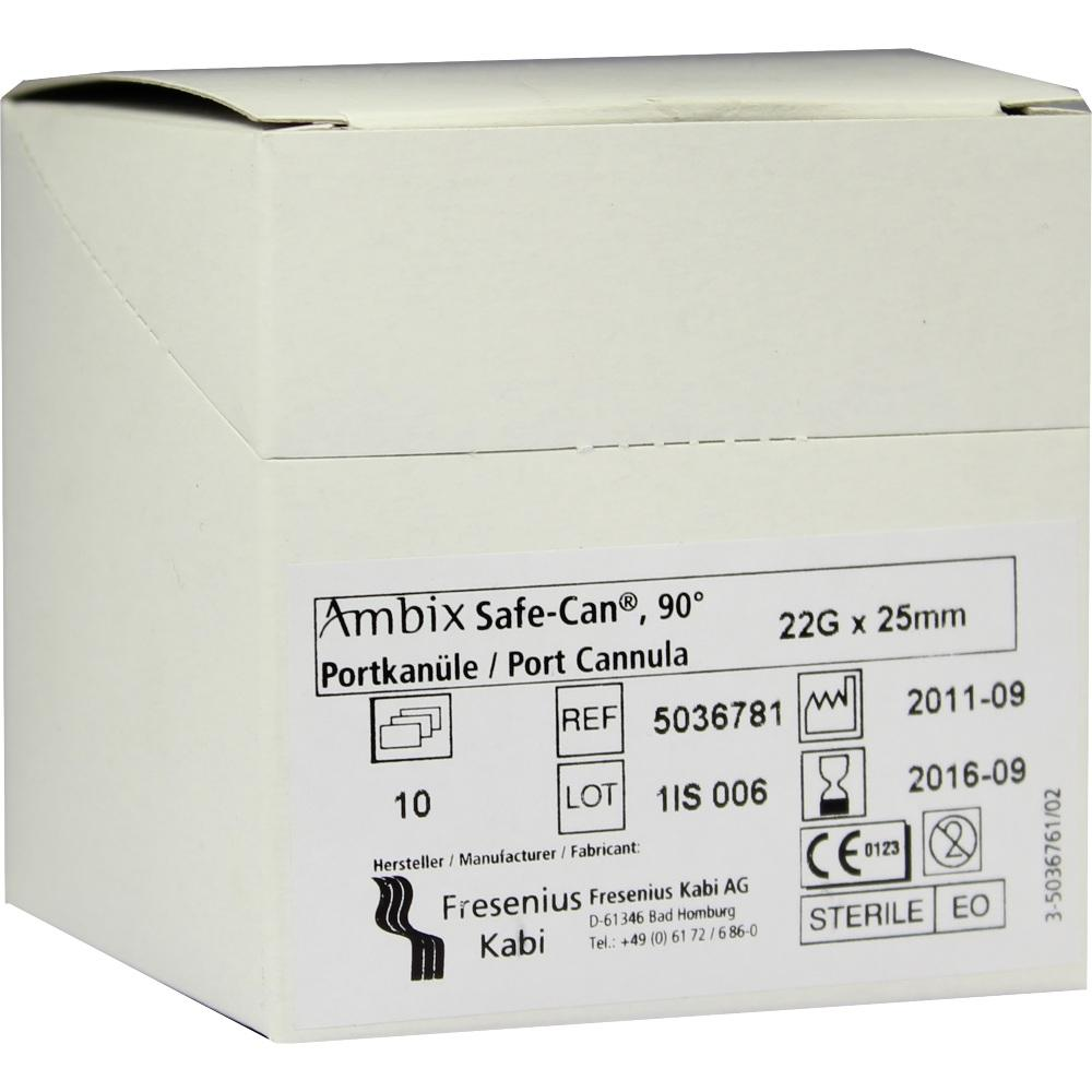 Ambix Safe Can Portpunkt.Kan.22 Gx25 mm gebogen 10 St