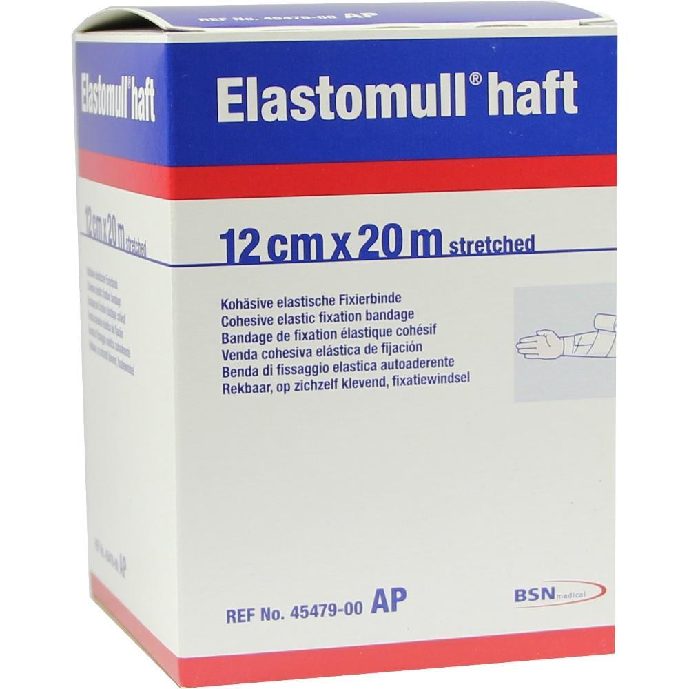 Elastomull haft 12 cmx20 m 45479 Fixierb. 1 St