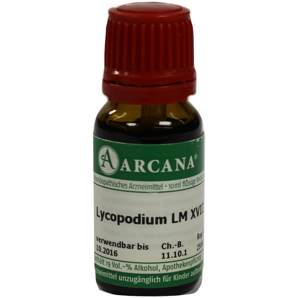 Lycopodium Lm 18 Dilution 10 ml