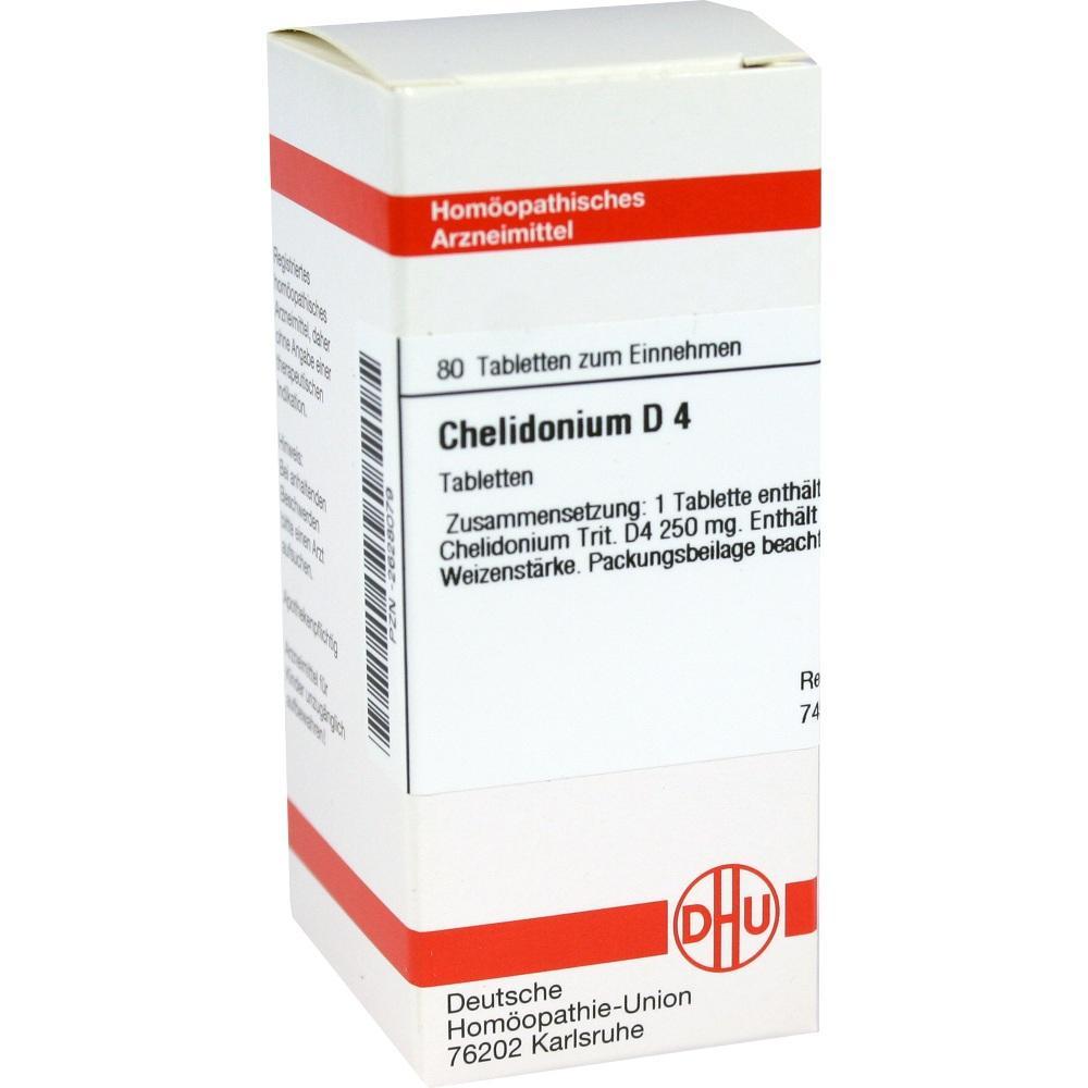 Chelidonium D 4 Tabletten 80 St