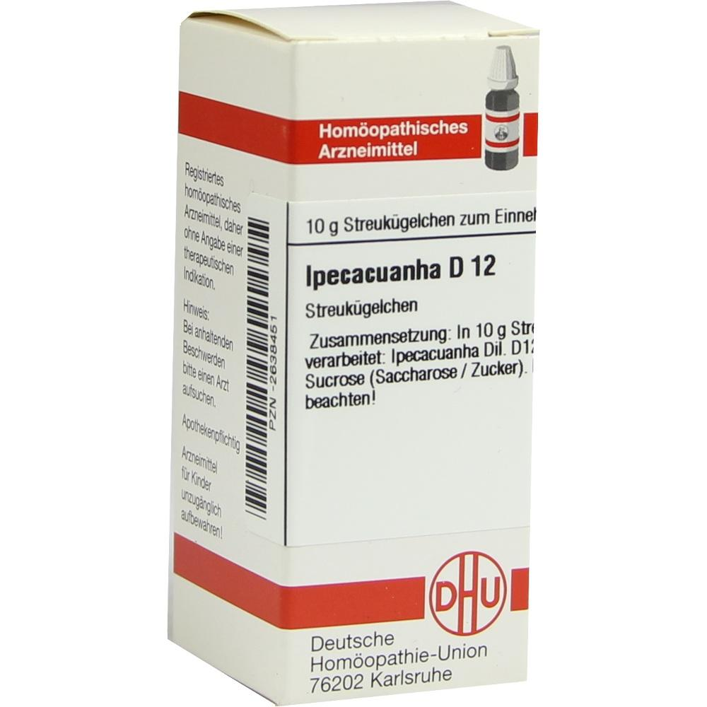 Ipecacuanha D 12 Globuli 10 g
