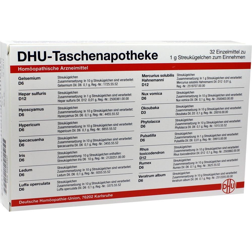 Dhu Taschenapotheke Globuli 32X1 g