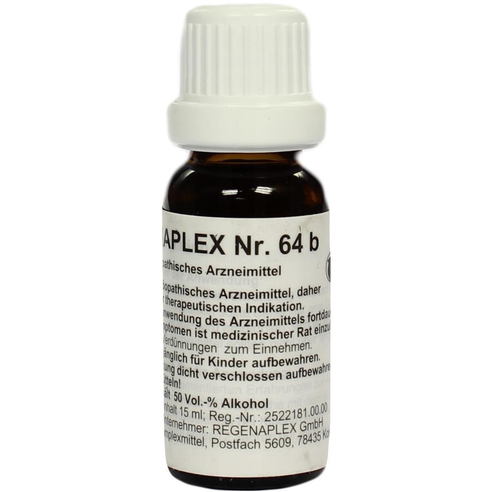Regenaplex Nr.64 b Tropfen 15 ml