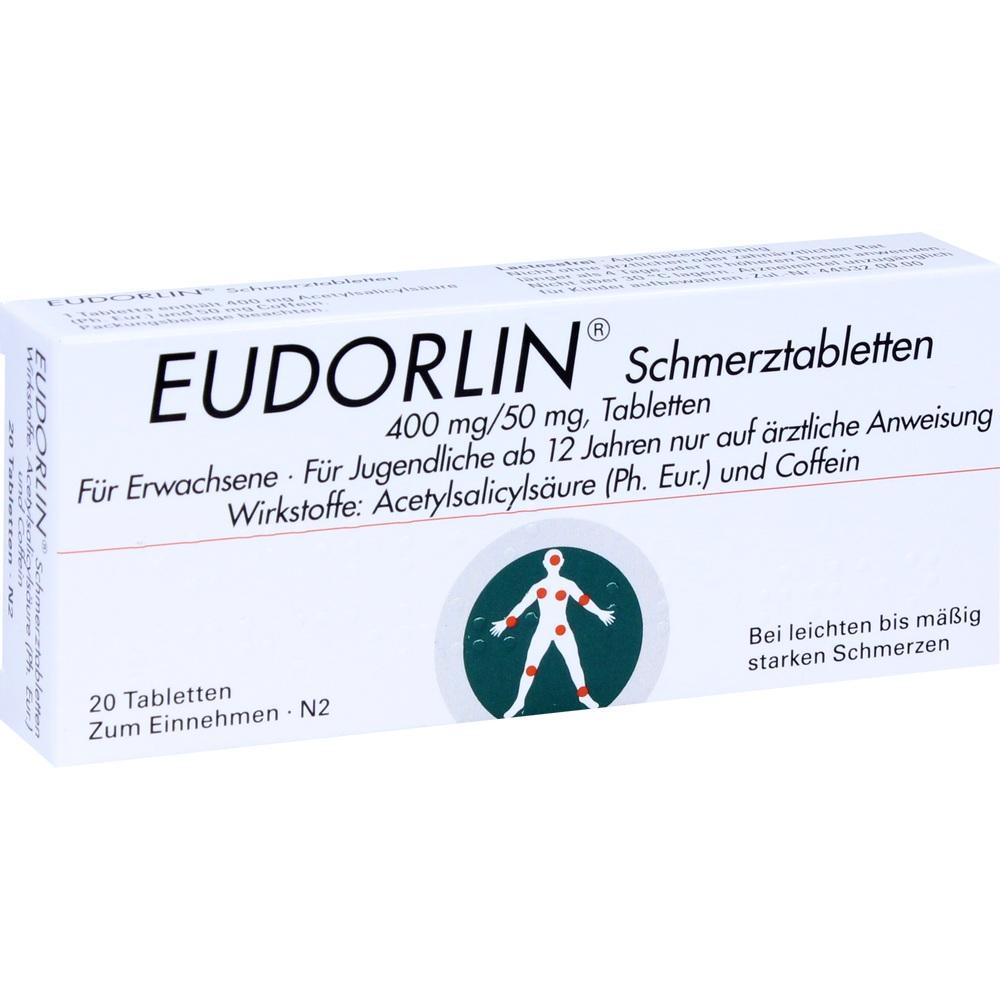 Eudorlin Schmerztabletten 20 St