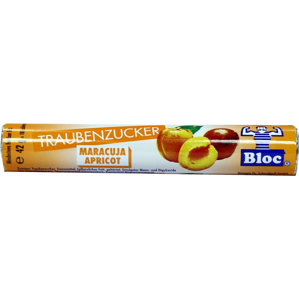 Bloc Traubenzucker Maracuja-Apricot Rolle 1 St
