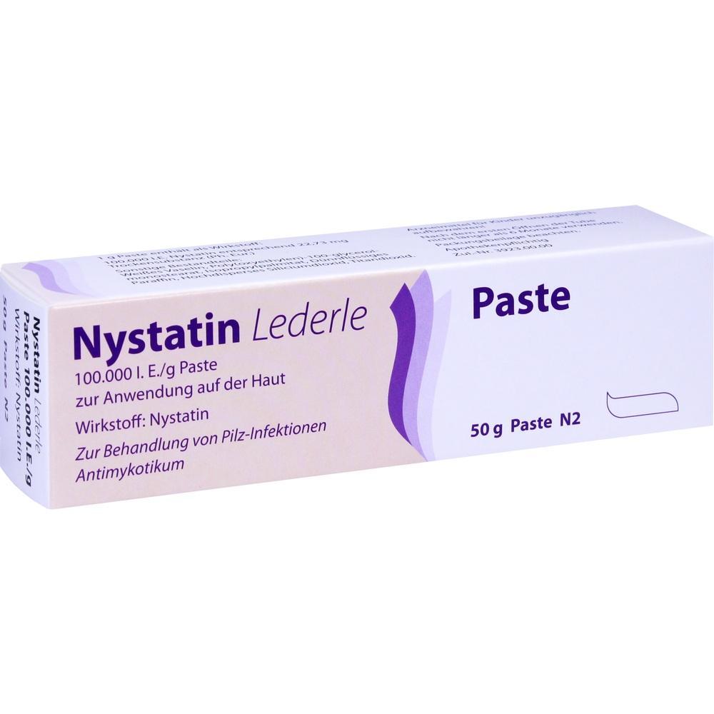 Nystatin Lederle Paste 50 g
