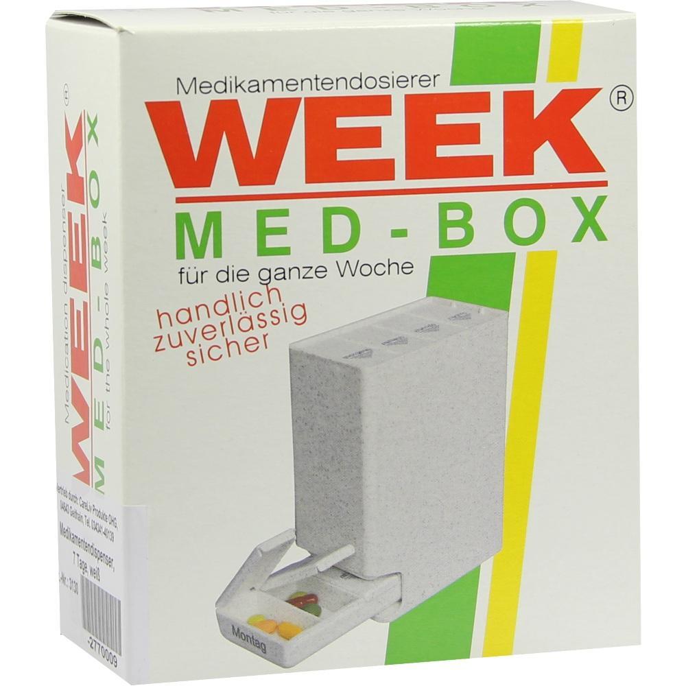 Medikamentendispenser 7 Tage weiß 1 St