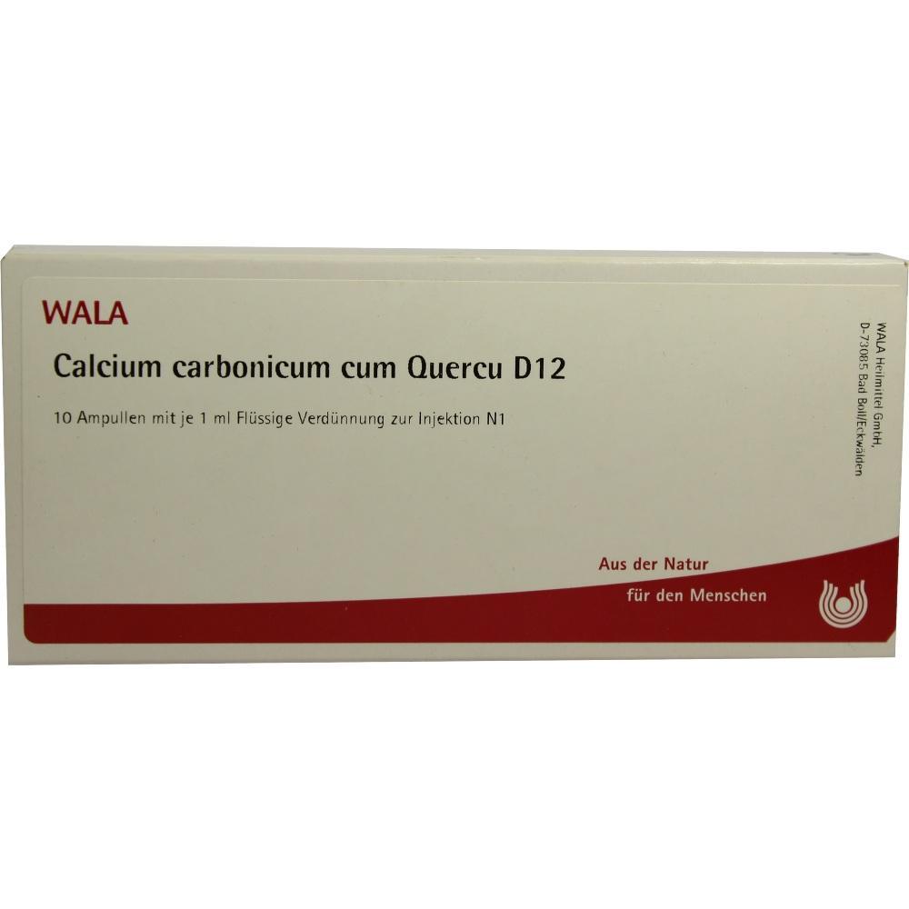 Calcium Carbonicum Cum quercus D 12 Ampullen 10X1 ml