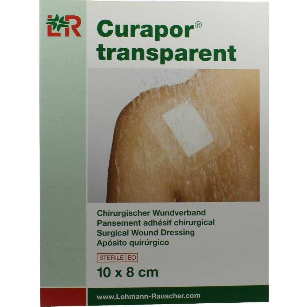 Curapor Wundverband steril transparent 8x10 cm 5 St