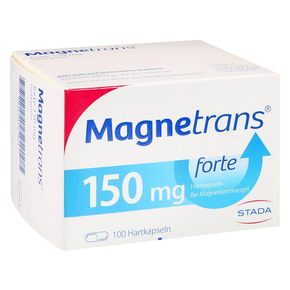 Magnetrans forte 150 mg Hartkapseln 100 St